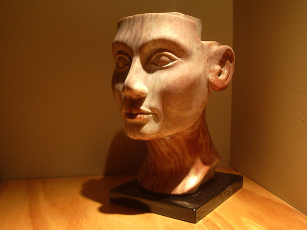 Bust of Nefertiti by David C. Walker | Sculptor