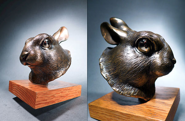 Bunny by Alex Schick | Sculptor