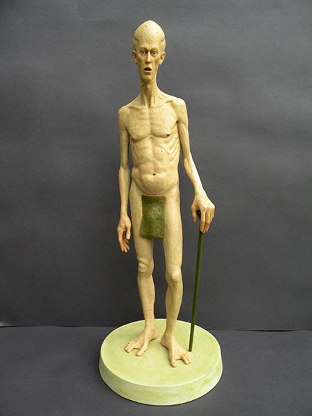 Standing Alien by Jesse Rubin | Sculptor