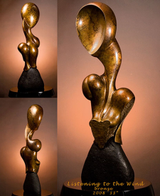 Listening to the Wind by Lee Gass, Sculptor