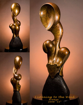Listening to the Wind by Lee Gass | Sculptor