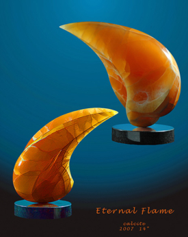 Eternal Flame by Lee Gass | Sculptor
