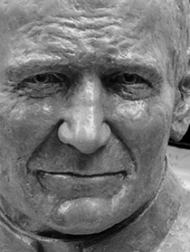Pope John Paul II by Louise Solecki Weir: Sculptor