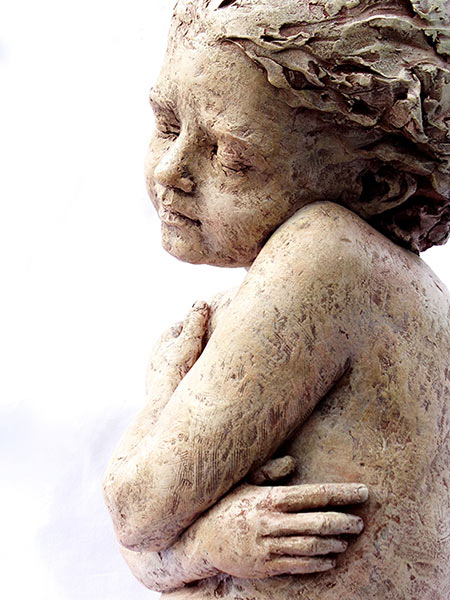 Cherub Dreams by Louise Solecki Weir| Sculptor