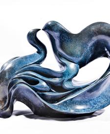 Birds Kissing by Parvaneh Roudgar, Sculptor