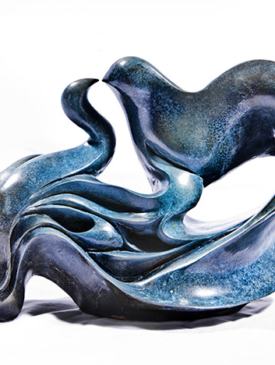 Birds Kissing by Parvaneh Roudgar, Sculptor
