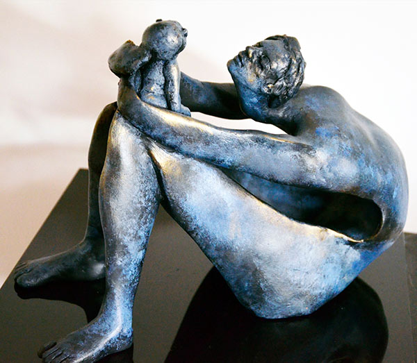 Maternity (3) by Parvaneh Roudgar | Sculptor