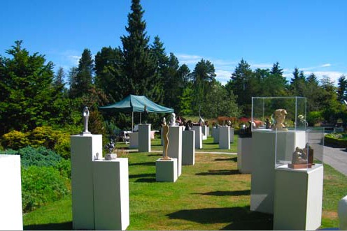 Annual Sculpture Show at VanDusen Botanical Garden | Sculptors