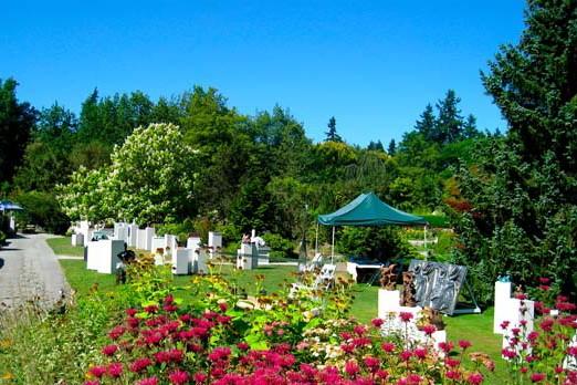 Annual Sculpture Show at VanDusen Botanical Garden   SSBC