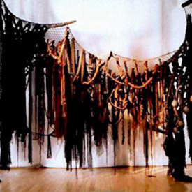 Curtain of Death by Diane Roy, Sculptor
