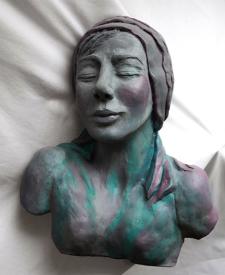 The Flower Dream by Ati Ahkami, sculptor
