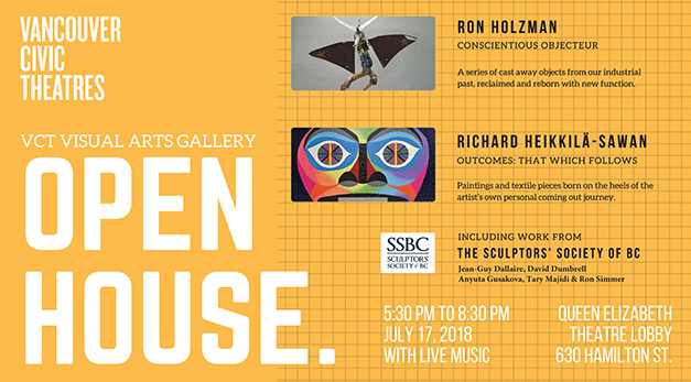 Visual Arts Open House at the Vancouver Civic Theatres