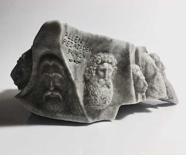 Emperors Battle by Alen Fox, Sculptor