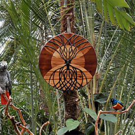 Tree of Cosmic - Self Knowledge: Psychic Shield by Claire Murgatroyd Sculptor