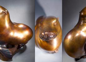 Millie Sunning by Alex Schick | Sculptor