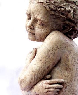 Cherub Dreams by Louise Solecki Weir  Sculptor
