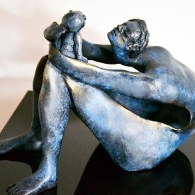 Maternity (3) by Parvaneh Roudgar | Sculptor