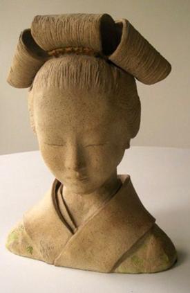 Geisha by Sylvia Escobedo, Sculptor