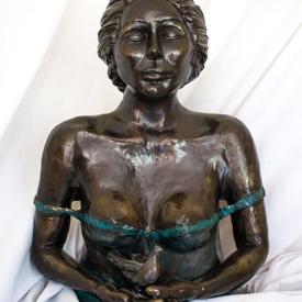Fortune Keeper by Ati Ahkami, sculptor