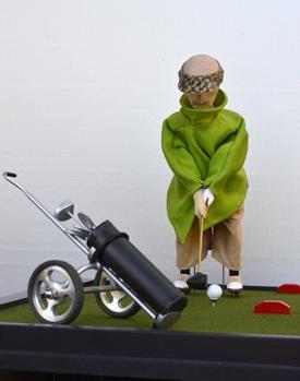 The Golfer by David Dumbrell