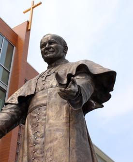 Saint John Paul II by Louise Solecki Weir, Sculptor