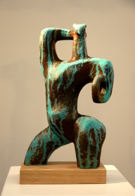 Cheetah Girl by Anyuta Gusakova, Sculptor