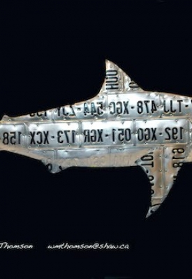 Shark by Bill Thomson, sculptor