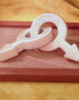 Love Knot by Daniel Needham, Sculptor