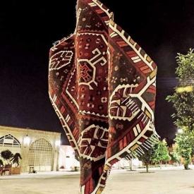 Fars Carpet by Alen Fox, Sculptor