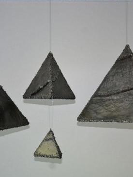 Cosmic Pyramids l by Naim Iseni, Sculptor