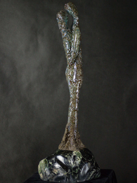 Solid Ground by Stephen Cole, Sculptor