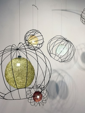 5 Orbs by Claudine Gévry, Sculptor