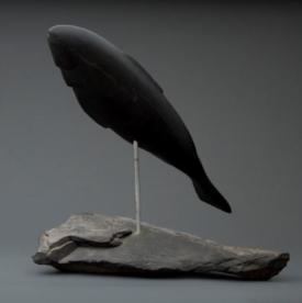 Black Trout by Michael Ray, Sculptor